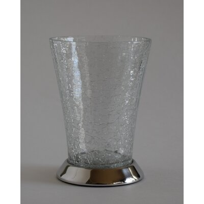 Classic Crackle Glass Tumbler by Fashion Home
