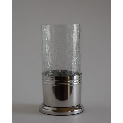 Trident Crackle Glass Tumbler by Fashion Home