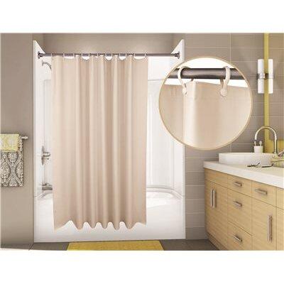 Super Suede Vinyl Shower Curtain by ProPlus