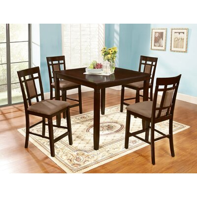 Inworld 5 Piece Counter Height Dining Set by Roundhill Furniture