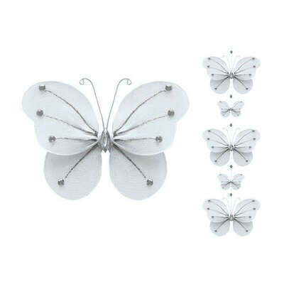 Ava Butterfly Garland Decoration Mobile by The Butterfly Grove