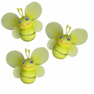 Bailey Bumblebee Hanging Bee 3D Decor by The Butterfly Grove