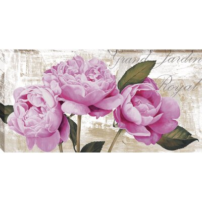Grand Jardin Royal by Jenny Thomlinson Graphic Art on Wrapped Canvas by MidwestArtFrame