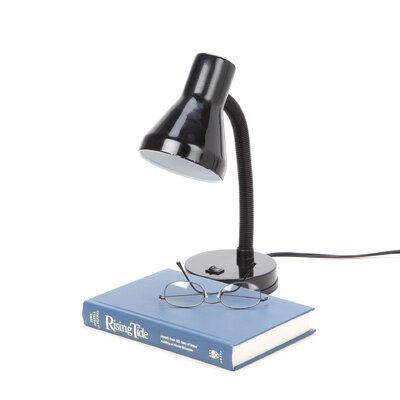 """Tensor Tensor 14"""" Table Lamp with Bell Shade"""