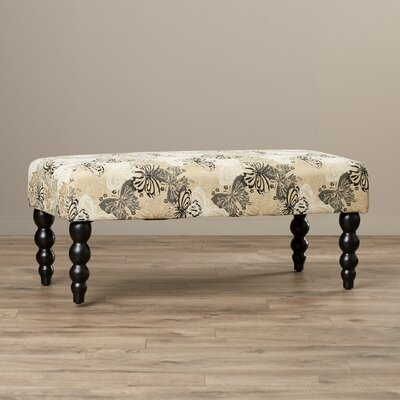 Lolita Upholstered Bench by Bungalow Rose