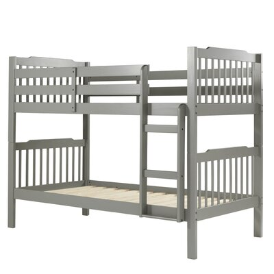 Sauganash Standard Twin over Twin Bunk Bed by Viv + Ro