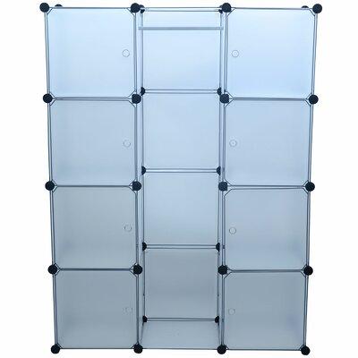 "14.5"" Deep Modular Portable Storage Closet System Product Photo"