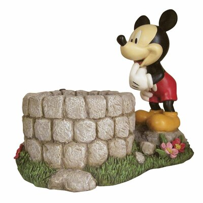 Disney Mickey Mouse Novelty Statue Planter by Woods International