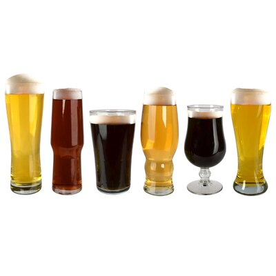 Barkeep 6 Piece Craft Beer Tasting Glass by Artland