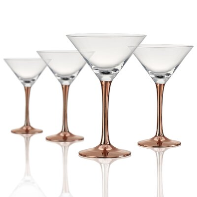 Coppertino Martini Glass by Artland