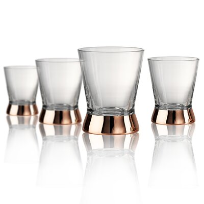 Coppertino Double Old Fashioned Glass by Artland