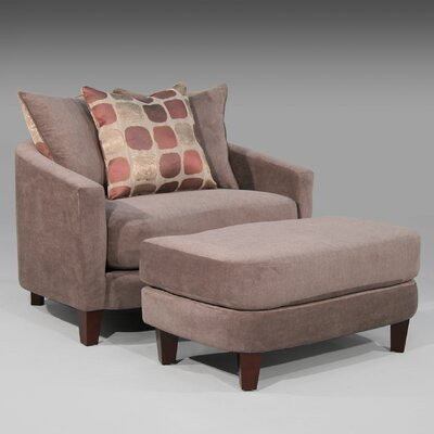 Zora Chair and Ottoman by Sage Avenue