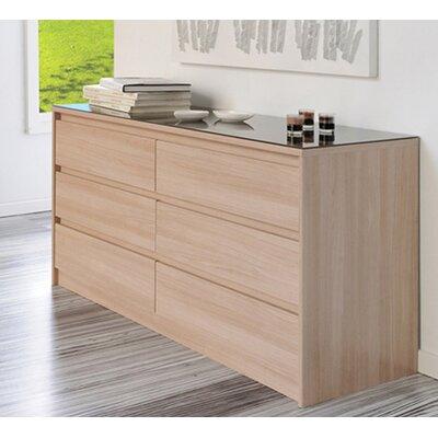 Life 6 Drawer Dresser by Parisot