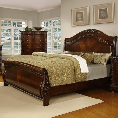 Patterson Sleigh Bed by Fairfax Home Collections