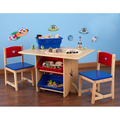 Star Kids 5 Piece Table and Chair Set by KidKraft