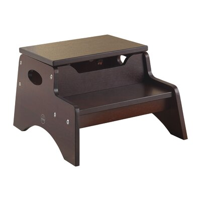 2-Step Manufactured Wood N' Store Step Stool by KidKraft