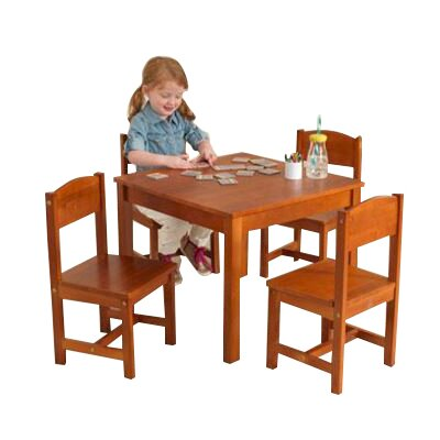 KidKraft Farmhouse Kids 5 Piece Table and Chair Set