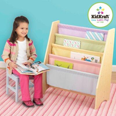 "KidKraft Personalized Pastel Sling 28"" Book Display"