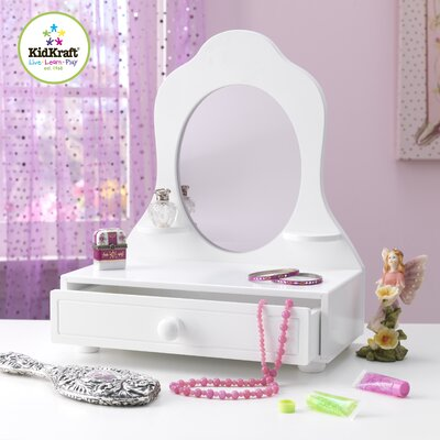 KidKraft Tabletop Vanity with Mirror