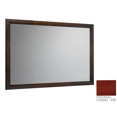 Solid Wood Framed Bathroom Mirror In Colonial Cherry Wayfair