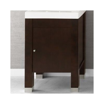 "Ronbow Devon 23"" Bathroom Vanity Base Cabinet in Cinnamon"