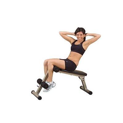 Best Fitness Folding Board Adjustable Ab Bench