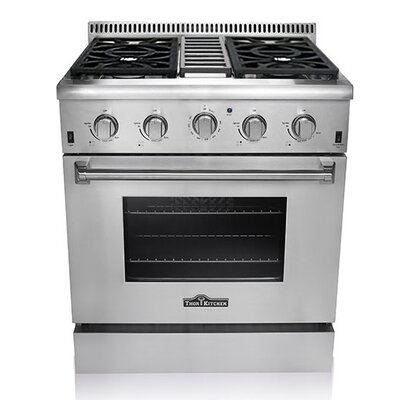 Professional 5.2 Cu. Ft Gas Range in Stainless Steel Product Photo