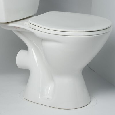 Saniflo Round Front 1.28 GPF Elongated Toilet Bowl Only