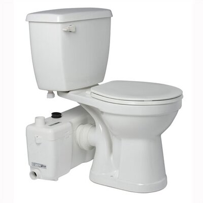 1.6 GPF Elongated 2 Piece Toilet Product Photo