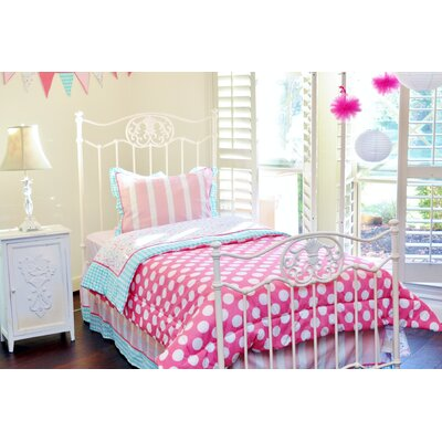 Posh in Paris Twin Bedding Set by Pam Grace Creations