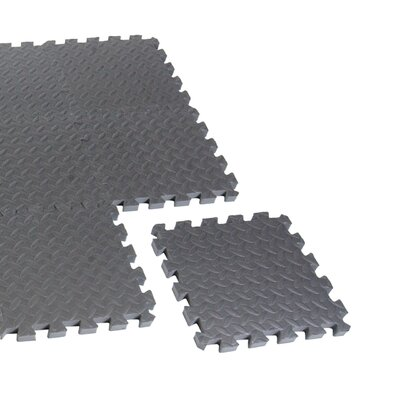 Anti - Microbial 12 Pieces Puzzle Mat by Cap Barbell