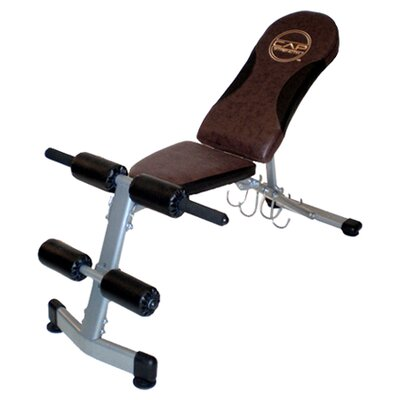 Fitness Adjustable Utility Bench by Cap Barbell