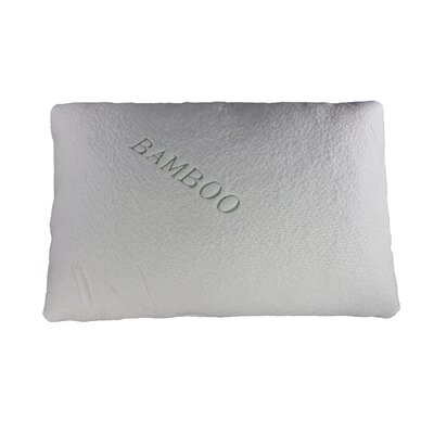 Natural Touch Bamboo Memory Foam Traditional Pillow by Sinomax
