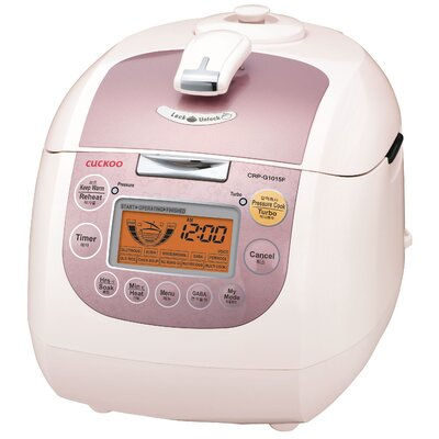 10-Cup Electric Rice Cooker by Cuckoo Electronics