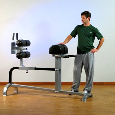 Commercial Extension Flat Hyperextension Bench by Yukon Fitness
