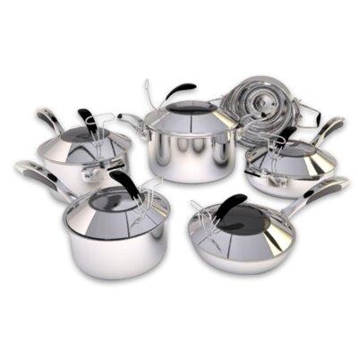 5 Ply Stainless Steel 11 Piece Cookware Set by Gunter Wilhelm