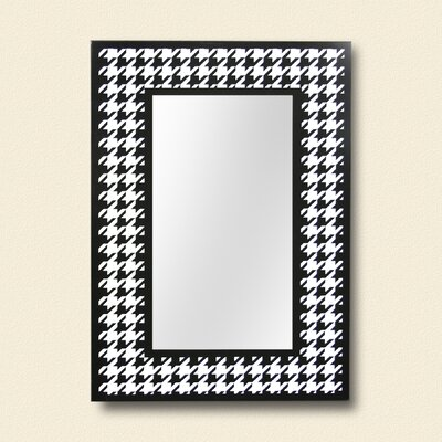 ReflectU Houndstooth Decorative Wall Mirror by Leick