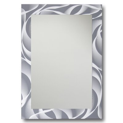 Swirl Decorative Wall Mirror by Leick