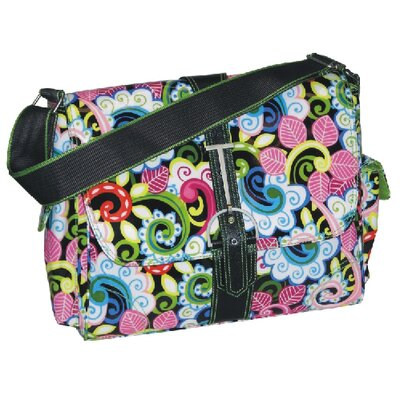 Multitasker Paradise Messenger Bag by Hadaki