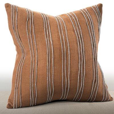 Cirque Linen Throw Pillow by Chauran