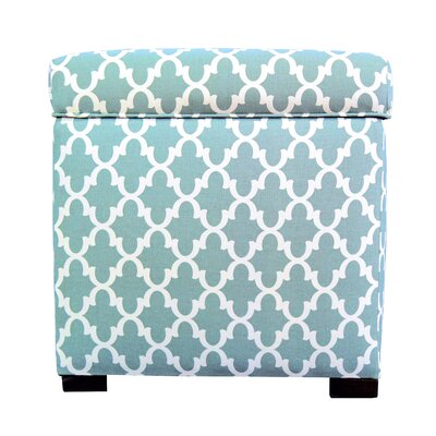 Tami Fulton Square Storage Ottoman by MJLFurniture