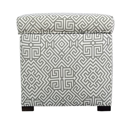 Tami Santorini Square Storage Ottoman by MJLFurniture