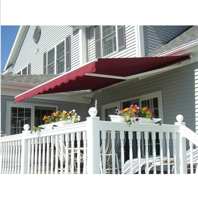 Aleko 10 Ft W X 8 Ft D Rectangular Patio Awning