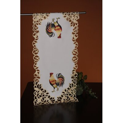 Classic Rooster Table Runner by Wimpole Street Creations