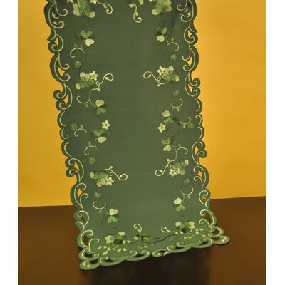 Irish Greens Table Runner by Wimpole Street Creations