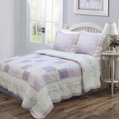 Love of Lilac Sham by Cozy Line Home Fashion