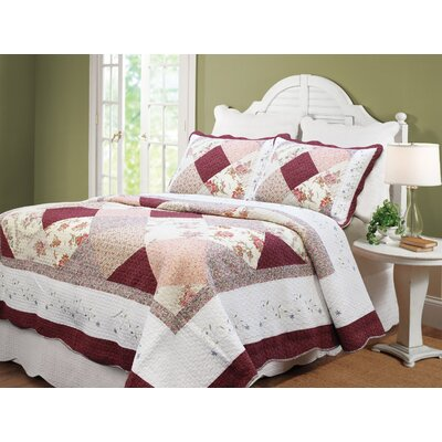 Georgia Patchwork Quilt Set by Cozy Line Home Fashion