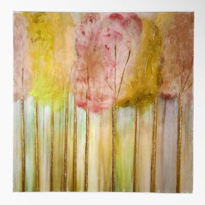 Soft Orchid Morning by Susan Jill Painting Print on Wrapped Canvas by WexfordHome