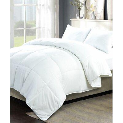 Down Alternative 3 Piece Comforter Set by Serenta