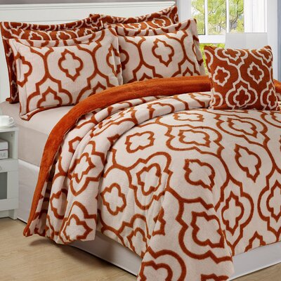 Jacquard 6 Piece Bedspread Set